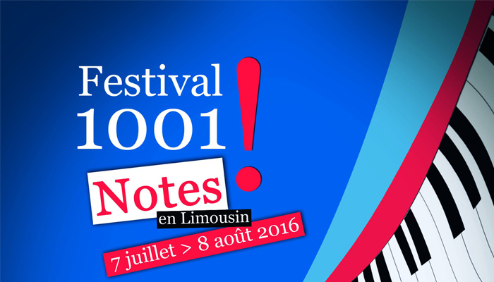 1001 notes en Limousin festival de l'été