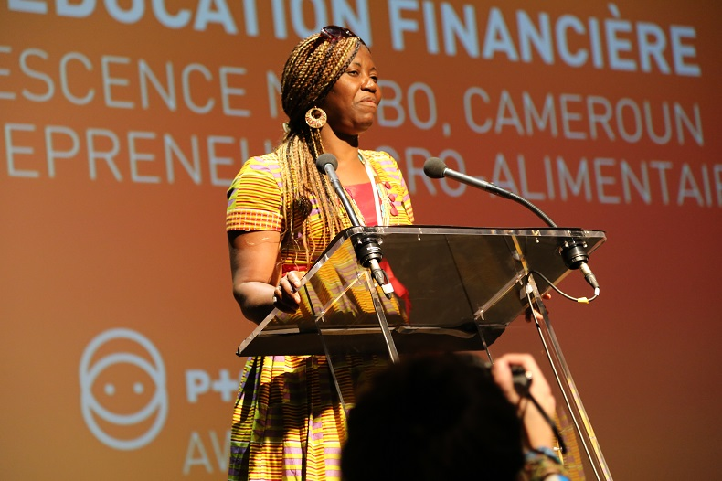 Marie Crescence Ngobo fondation orange Positive Planet