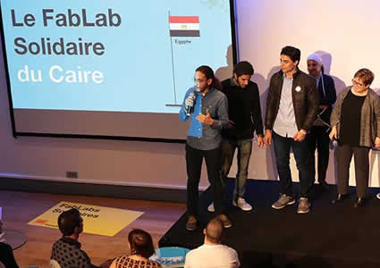 the Solidarity FabLabs Challenge - edition 2016