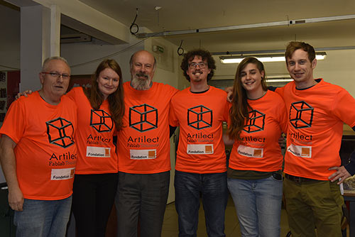 Equipe Toulouse Clean Up #Imake4mycity Julien FabLab Solidaire