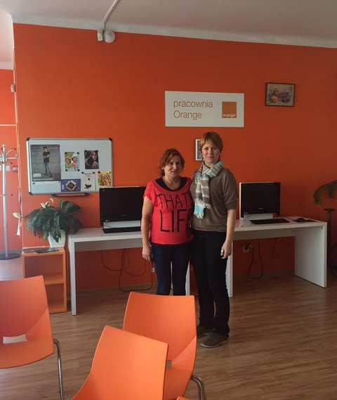 Orange studios fondation orange pologne