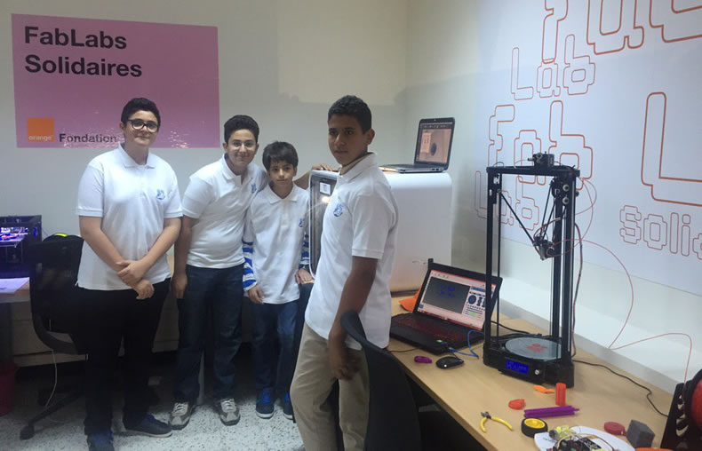 young people fablab solidarity tunisia