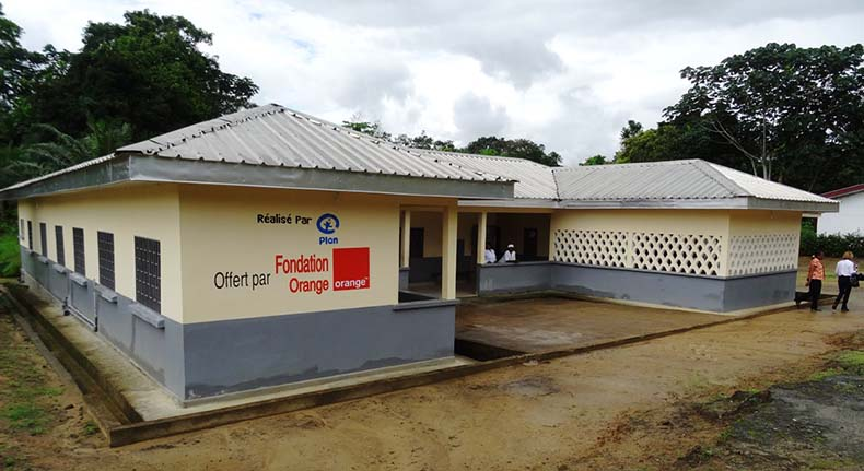 village Bonepoupa Cameroun Fondation Orange