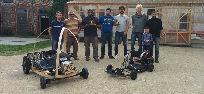 maker race bolide fondation orange fablab solidaire