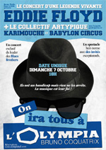 "Affiche ""On ira tous à l'Olympia"""