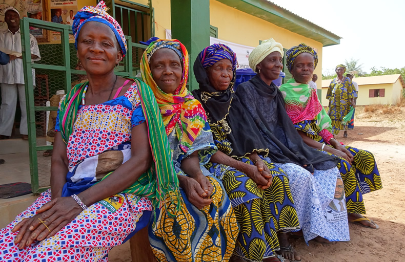 women in Guinea