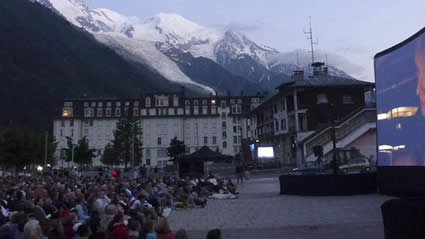mozart under the stars - chamonix