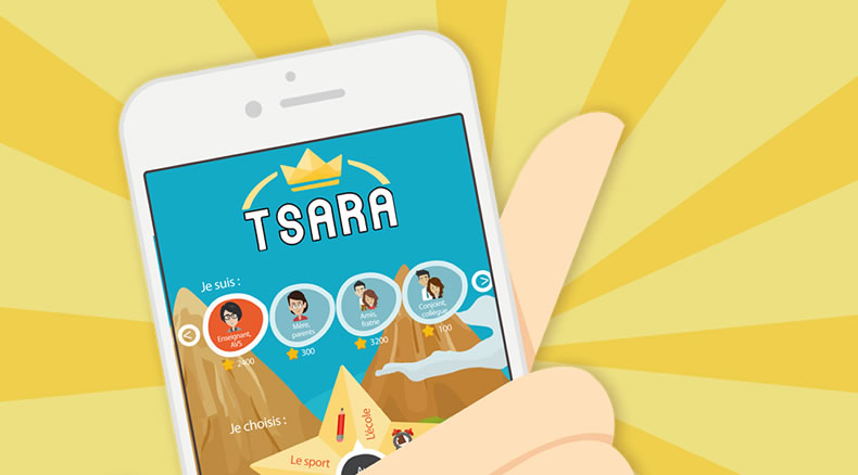 TSARA, serious game autour de l'autisme, disponible sur mobile, tablette et ordinateur