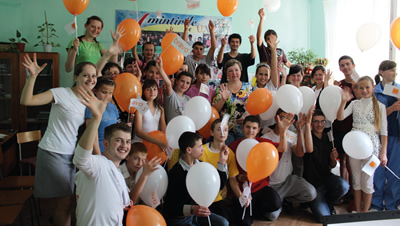 "Andrei Buzdugan, Orange Employee in Moldavia, joins the employee volunteer programme ""Ne Pasa"" which works with orphans"