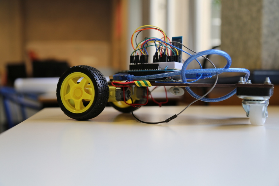 voiture Parth'Lab fablab solidarity christopher