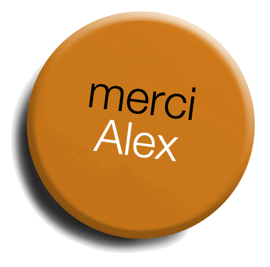 merci Alex