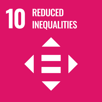 Sustainable Development Goals - 10 - Reduce inequality within and among countries.