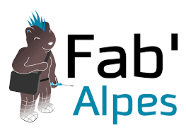 logo fab'Alpes FabLabs Solidaires